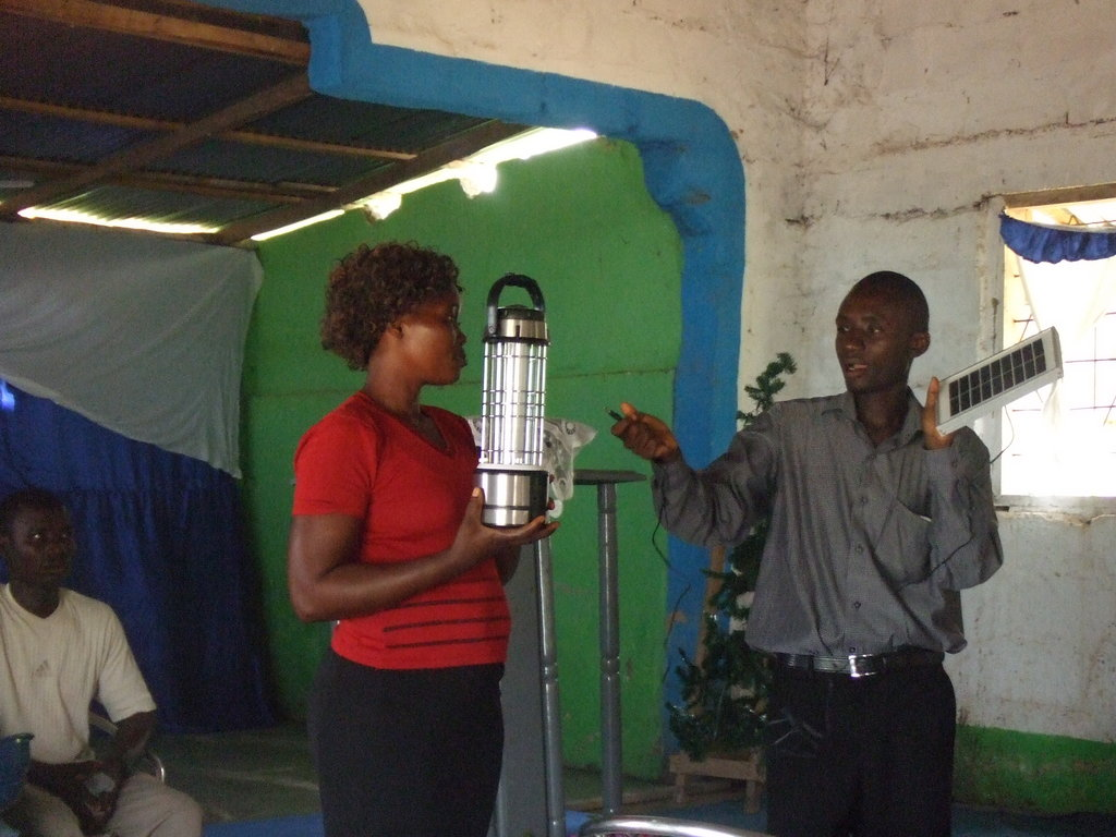 Provide Solar Lanterns for 50 households in Ghana