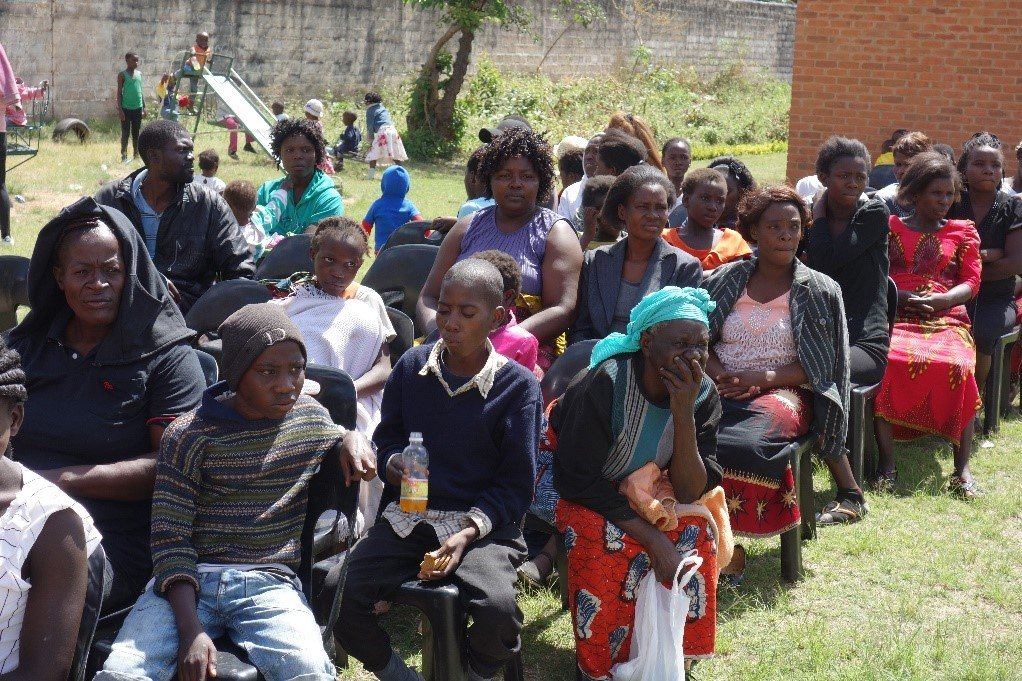 Families Attending a Malaria Education Session