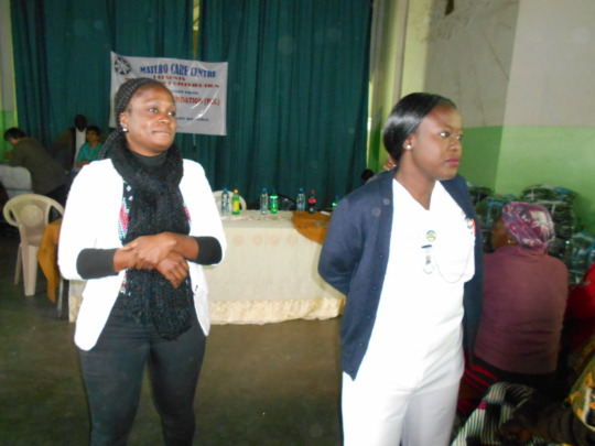Education on prevention of malaria session