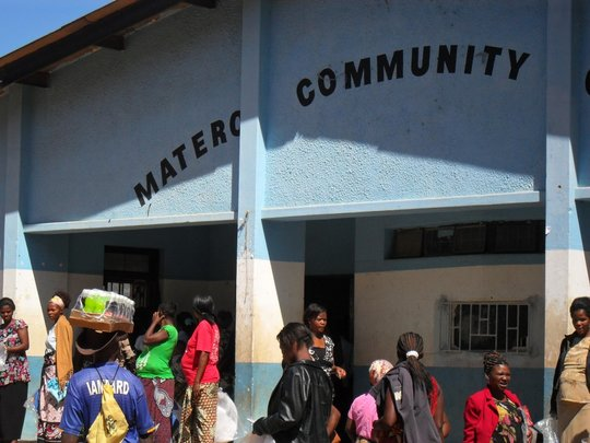 Venue for the distribution of Nets