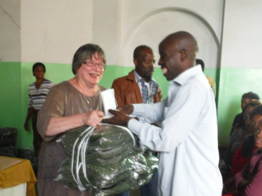 Malaria Bed Nets being Provided