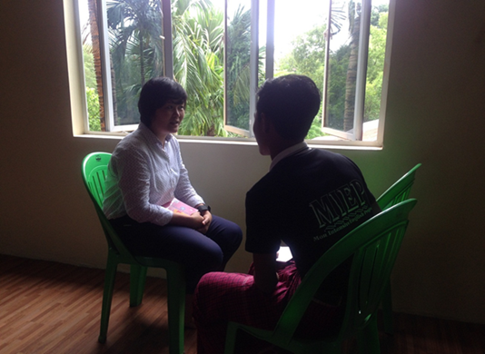 Counseling Session after presentation
