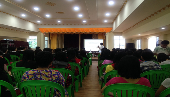 Rammannya Myae English Center, Mawlamyine