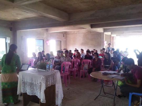 A presentation on Youth and Education Opportunity