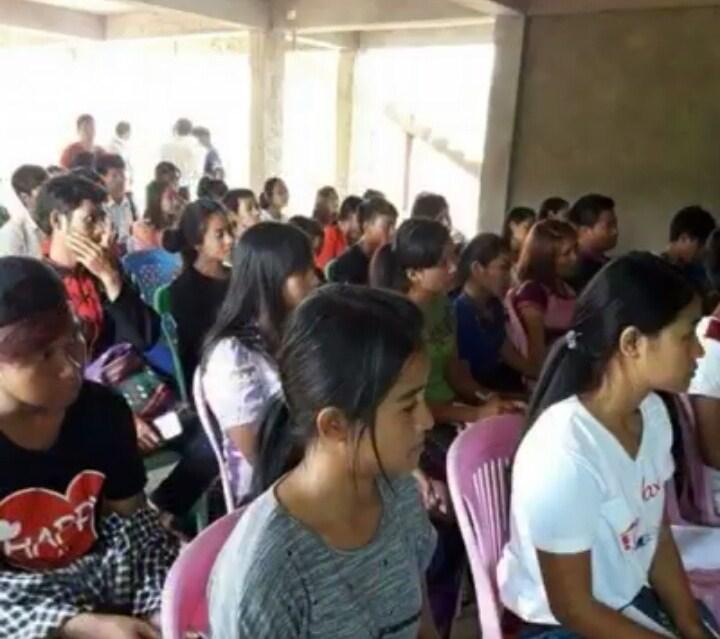 Wa Students from Lashio, Northern Shan State