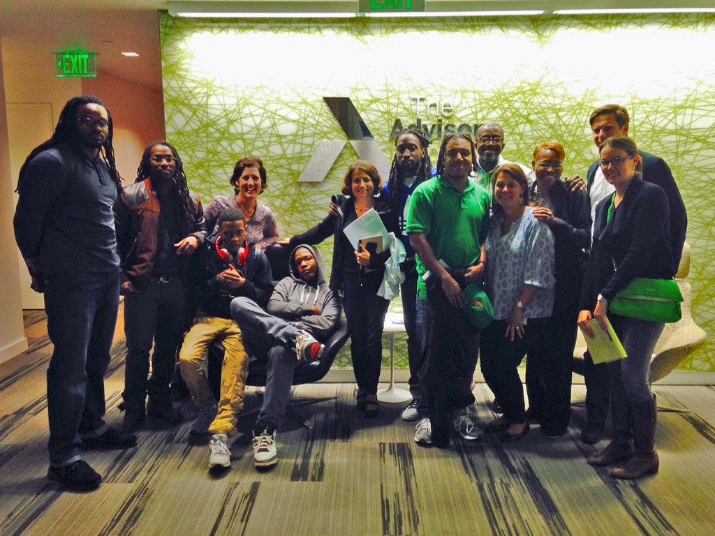 Free Minds members with Advisory Board Company