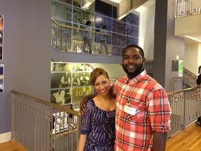 Alisha & Maurice after an On the Same Page session