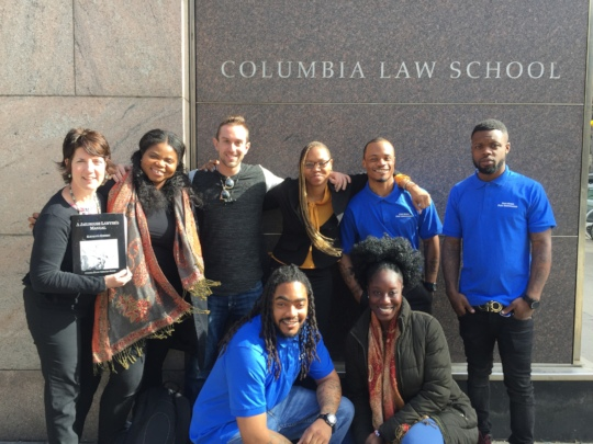 Free Minds team with the Columbia organizers