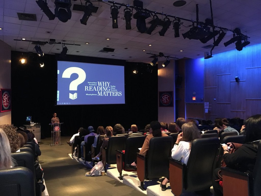 """NBF """"Why Reading Matters"""" conference"""