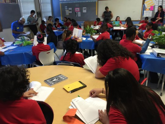 """On the Same Page"" at Brightwood Center City PCS"