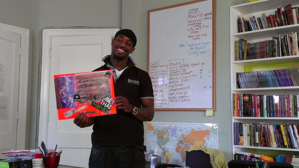 Member Andre Shares Vision Board of Future Goals