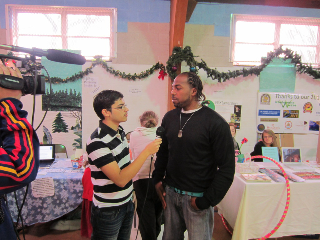 FM Member Demetrius Interviewed by Local News