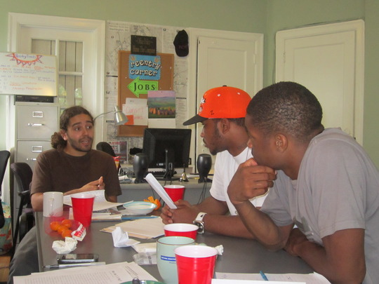 Reentry Support writing workshop