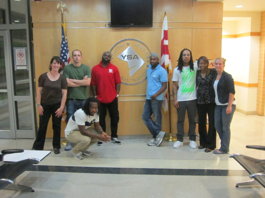 Outreach team speaks at youth detention center