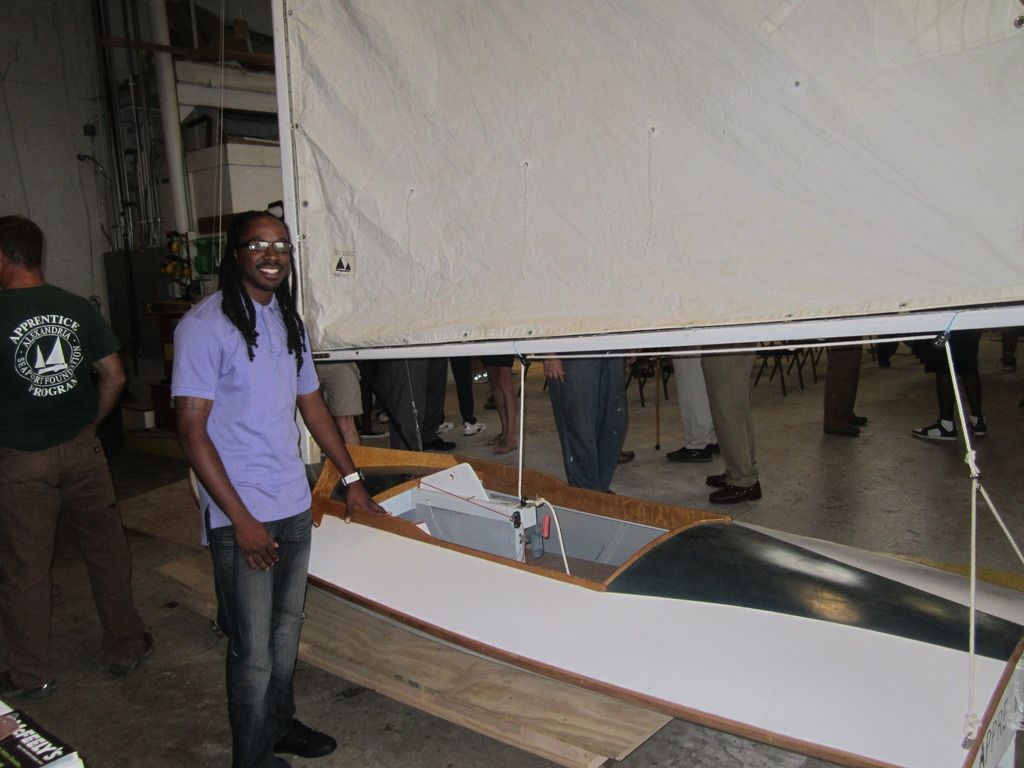 Bobby ready to set sail on graduation day