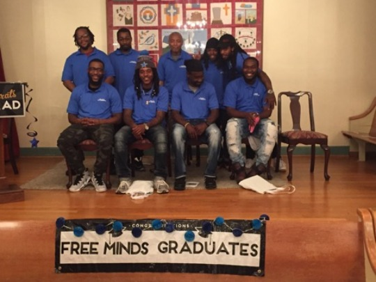 May Apprentices at their graduation ceremony