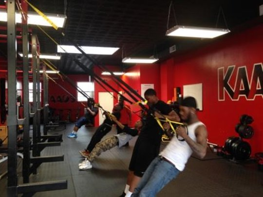 Apprentices practice physical fitness at KAAOS gym