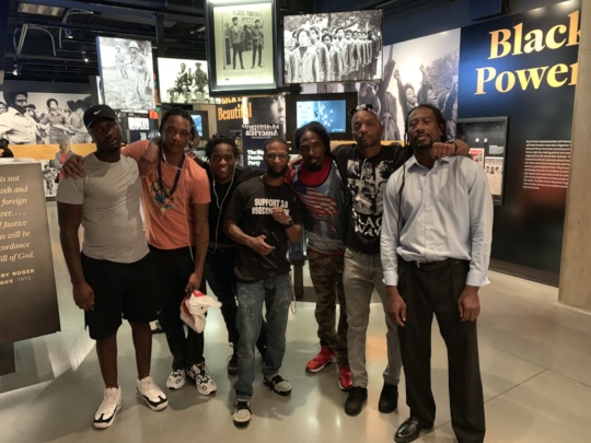 Free Minds Apprentices visit NMAAHC