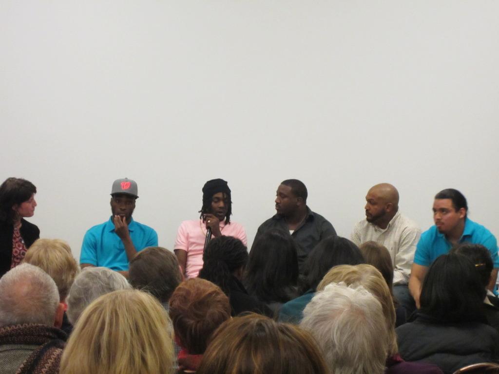 Members Speak at April 2 Poetry Reading & Dialogue