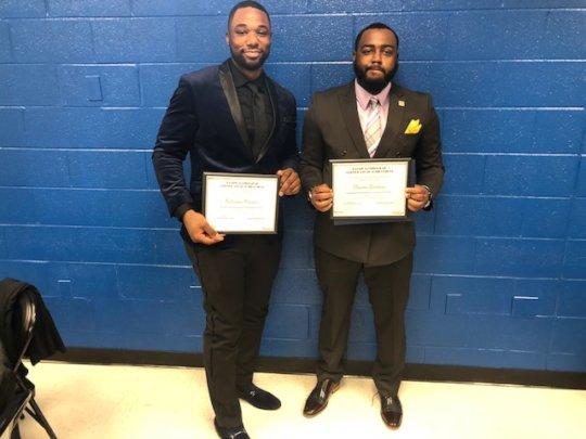 Free Minds members Nick & Davon at Pathways Grad.