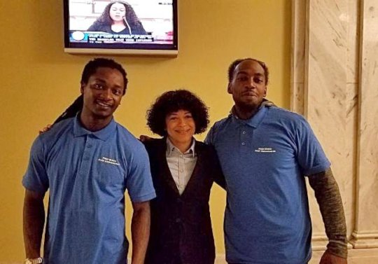 Terrell and Demetrius testified at DC Council