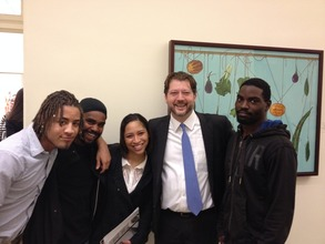 At an event with DC councilmember David Grosso