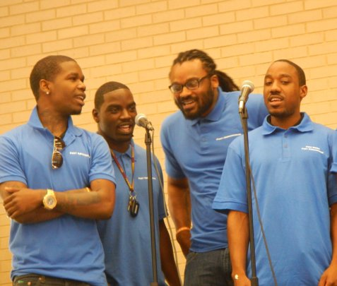 FM members perform at the Our City Festival