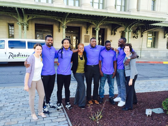 Free Minds Outreach Team at Scranton University