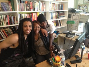 FM members Stephon and Michael with Ms. Keela