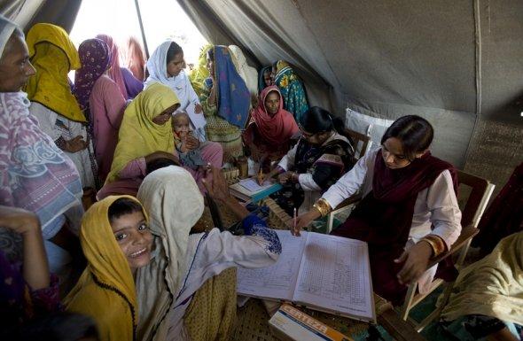 Mobile health for women. Photo: Julie Denesha