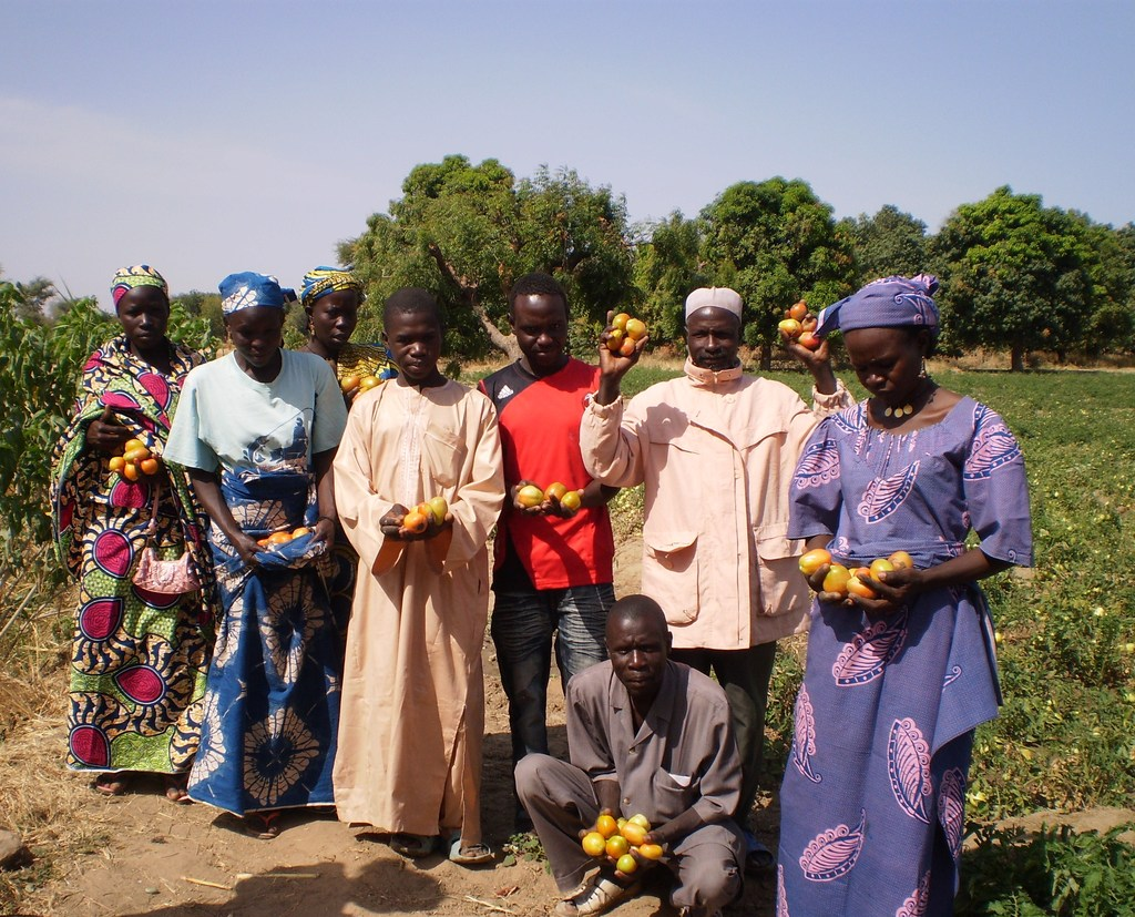 ASSYSGOD members at their community garden