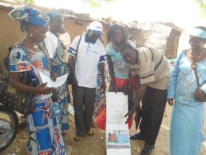 Community sensitization event in Yagoua