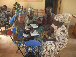 Peer education trainers in Maroua