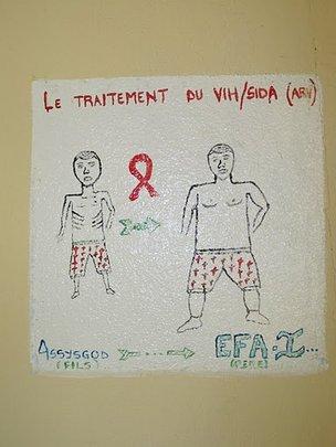 EFA association mural showing benefits of ART