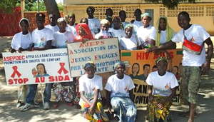World AIDS Day 2011 activities in Maroua