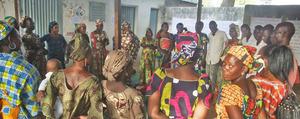 EFA Peer Educators at gender training in Maroua