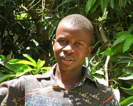 Salihou, EFA-trained HIV Peer Educator