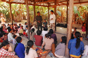 Recent meeting with families of Prolit Village