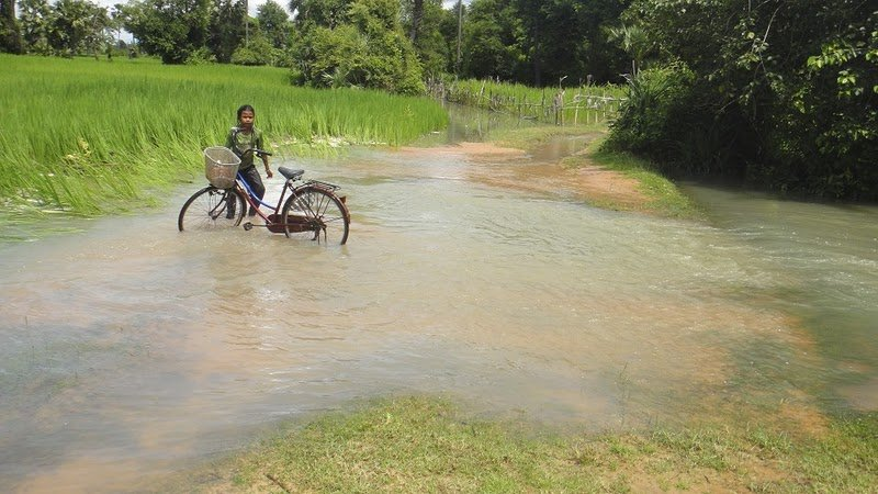 Flooding in Prolit Village