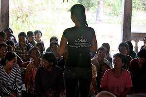 Meeting with the villagers of Prolit