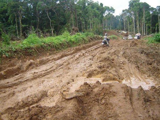A challenge for project staff in Mondulkiri