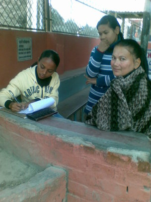 Paralegal providing legal help