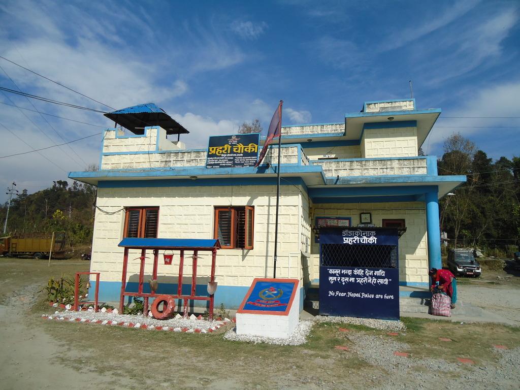 Police Station of Nepali village