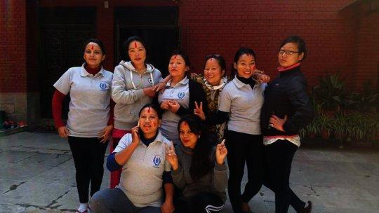 Survivor girls in holi.jpg