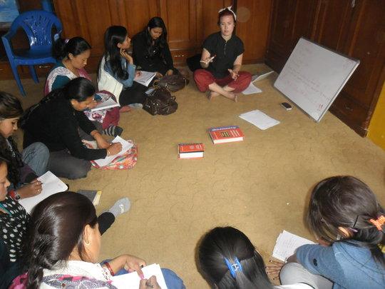 English Classes at SASANE