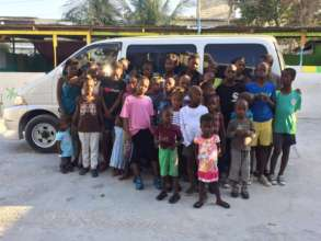 The orphanage now has its own bus