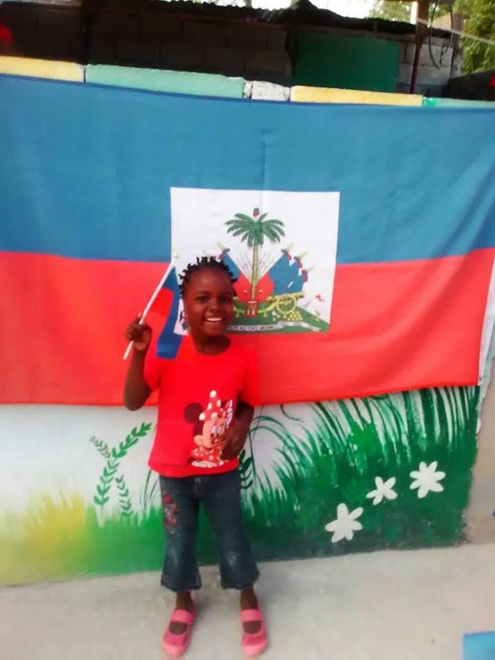 Flag day in Haiti