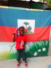 Flag day in Haiti