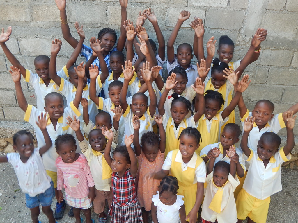The kids at the orphanage are excited this month!