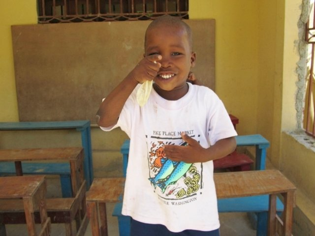 You can help build him a new school!
